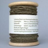 Flachsschnur Nm 0,2 Holzspule