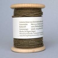 Flachsschnur Nm 0,15 Holzspule