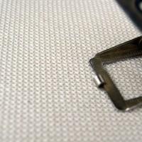 Baumwoll-Doppelgewebe Makro