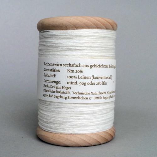 Leinenzwirn Nm20/6 Produkt